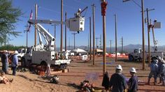 Watch a hurt man rescue simulation and hear from Trico Electric Cooperative lineman Matt Larson who won top hand journeyman at the 2015 Arizona Lineman Rodeo in Benson.  Arizona's Generation and Transmission Cooperatives supply wholesale power to Trico.