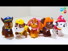 Making Paw Patrol Team & Friends - YouTube