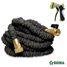 The  #KONA 50' Expanding Garden Hose  (black) is the strongest durable expandable hose you can buy. Not only that, but it comes with a  FREE 8-WAY SPRAYER with ...
