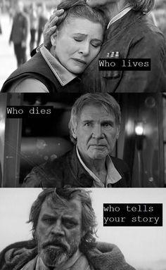 Luke, Leia, Han Solo. Star Wars
