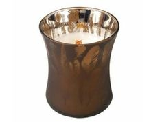 Fireside Medium Dancing Glass Candle by WoodWick