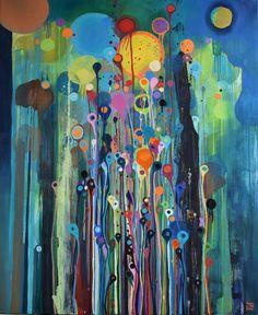 """Artist Lilla Kuizs; Painting, """"After rain"""" #art"""