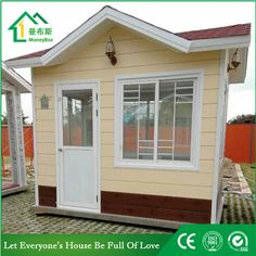 Guard house WhatsApp: +8618620106756 Steel Structure Buildings, Guard House, Portable Toilet, Prefab Homes, Tiny House, Shed, Construction, Outdoor Structures, Design