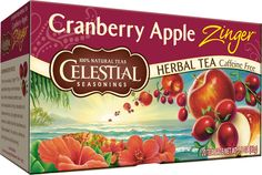 Cranberry Apple Zinger™ Herbal Tea   Celestial Seasonings