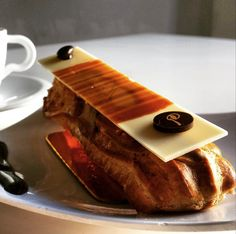 Our delicious Coffee Eclair for you Coffee lovers. Only at Le Parfait.