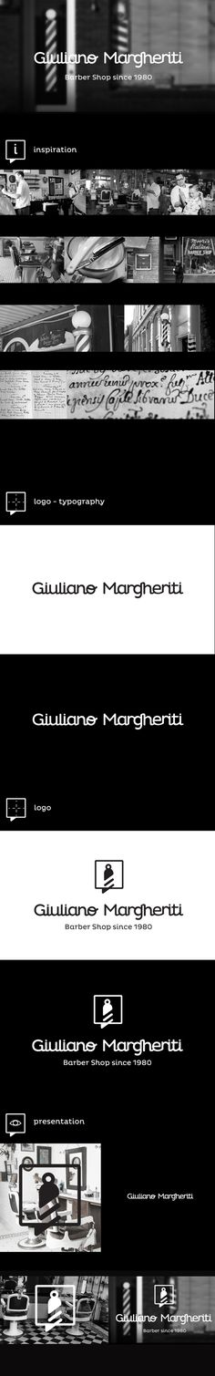 Branding created for an Italian barber - Giuliano Margheriti. Our primary goal was to visually distinguish Giuliano Margheriti from the local barber competition. The ID was designed with elegance and minimalism in mind. Both classic and creative element…