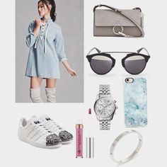 Stylish chic outfit by me! Follow my Instagram for more fashion inspiration: @amtrnds 💕 #fashion