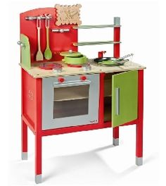 pink wooden play kitchen set for kid | kids furniture ideas