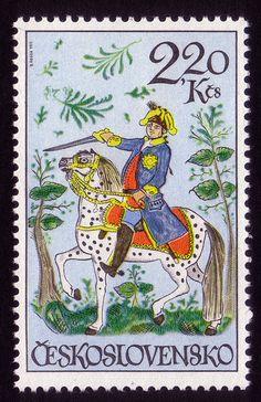 Letterology: Czechoslovakian Stamp Designs