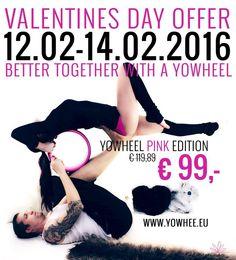LOVE LOVE valentines day offer 12.02-14.02.2016  #linkinbio ☝️ #yowheelpink  #valentinstag #valentine #offer #yogalove #yogaaddict #yowhee #yogawheel #acroyoga Better Together, Valentines, Day, Instagram Posts, Pink, Movie Posters, Valentine's Day Diy, Valentines Day, Film Poster