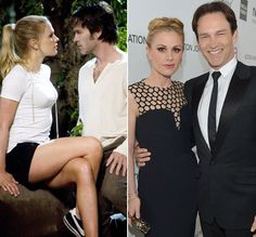 Pin for Later: 25 TV Couples Who Became Real Couples Anna Paquin and Stephen Moyer