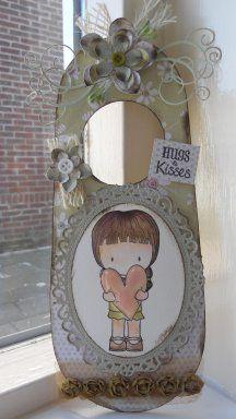 Hugs & Kisses deurhanger