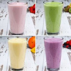 Breakfast Smoothie Meal Prep 4 Ways   These Breakfast Smoothie Meal Prep Recipes Will Make Your Life So Much Easier