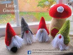 Bildresultat för free crochet pattern Christmas gnome