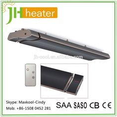 JH infrared radiant heater's surface is made of finned type special aluminum alloy, adopting unique tech; it creates an obvious energy-saving effect because of high electricity-heat efficiency & aero heating elements. Electric Room Heaters, Radiant Heaters, Infrared Heater, Heating Element, Home Reno, Aluminium Alloy, Save Energy, Backyard Ideas, Indoor Outdoor