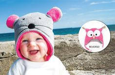Reversible Winter Hats 50% off at Groopdealz