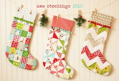 A little ambitious for me, but something for the future...Stockings by croskelley, via Flickr