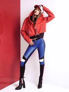 Gigi Hadid for #TommyXGigi Spring Collection 2018 ✨