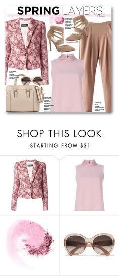 """""""Work Wear"""" by beebeely-look ❤ liked on Polyvore featuring Dolce&Gabbana, RED Valentino, NARS Cosmetics, Ray-Ban, WorkWear, classy, sammydress, springformal and workblazer"""