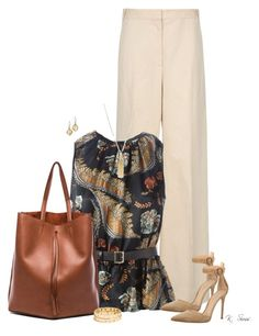 """""""It's Thursday"""" by ksims-1 ❤ liked on Polyvore featuring STELLA McCARTNEY, Dsquared2, Gianvito Rossi, Maison Margiela, Gemma Simone, BaubleBar and Talbots"""