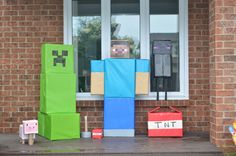 "Photo 1 of 41: Minecraft Birthday Party / Birthday ""D's Minecraft Party""   Catch My Party"