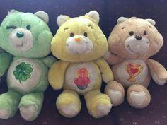 Kenner Plush from Venezuela Care Bears, Plushies, Eye Brows, Teddy Bear, Toys, Stitching, Symbols, Style, Venezuela