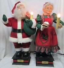 Vintage Telco Motion-Ette Lighted Animated Christmas Victorian ...