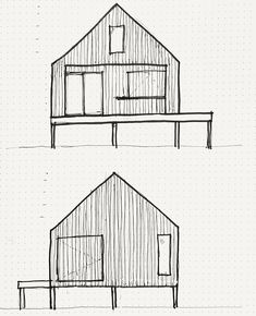 Here is a sketch of our upcoming Cabana projects on Georgian Bay. Cabana, Georgian, Floor Plans, Diagram, Sketch, Projects, Photos, Instagram, Sketch Drawing