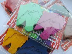 15 cheval Twin colorie Packs Kids Party faveur par DiddyColours