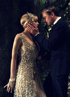 The Great Gatsby film is a great source of inspiration for the look and feel of your decor and outfits