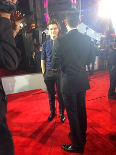 Working the PCAs, Chris Colfer is such an inspiration to his fans!