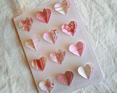 Tarjeta valentin Simples tarjetas para San Valentín en papel