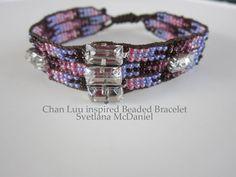 Chan Luu inspired Beaded Bracelet - YouTube