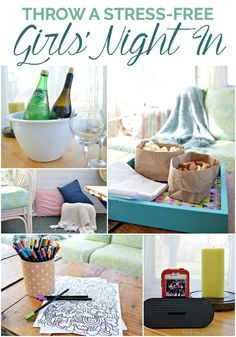 How to Throw a Stress-Free Girls Night In - Mad in Crafts