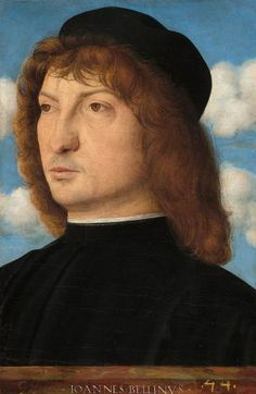 """Summary of this painting created by the old master named Giovanni Bellini The artwork """"Portrait of a Venetian Gentleman"""" was made by Giovanni Bellini in the year 1500. Moveover, the artpiece is in the the art collection of National Gallery of Art in Washington D.C., United States of America. With courtesy of National Gallery of Art, Washington (public domain license).Creditline of the artwork: . What is more, the alignment of the digital reproduction is portrait and has a side ratio of 2 : 3, wh Giovanni Bellini, Fine Art Prints, Framed Prints, Head & Shoulders, National Gallery Of Art, Old Master, Portrait, Image Collection, Heritage Image"""