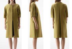 Acne - Sidney coat in Dark Olive