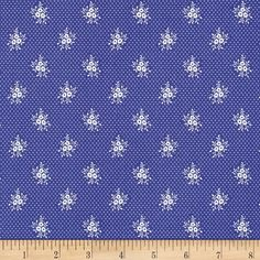 April Cornell Music Collection Primrose Periwinkle from @fabricdotcom  Free Spirit, this cotton print fabric is perfect for quilting, apparel and home decor accents. Colors include periwinkle and white.