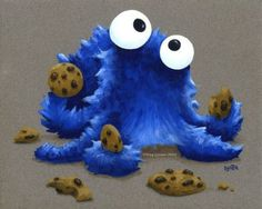 cookie octopus