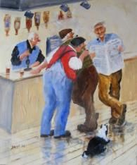 'First With The News' | Gallery | Des Brophy