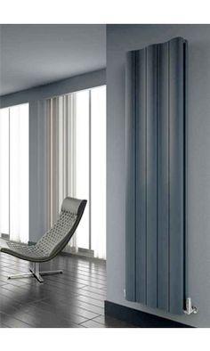 Reina Gio Double Panel Aluminium Vertical Designer Radiator