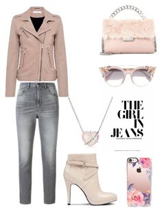 """""""evening with friends"""" by saturn43210 on Polyvore featuring IRO, Golden Goose, STELLA McCARTNEY, Nine West, Jimmy Choo, Casetify and David Yurman"""