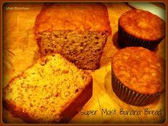Utah Munchies: Super Moist Banana Bread