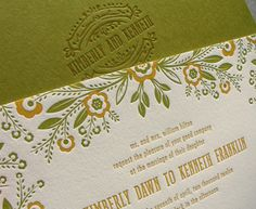 Hyegraph Invitations & Calligraphy creates distinctive wedding invitations, prints elegant calligraphy, fine stationery, save the dates and holiday cards. Wedding Reception Design, Wedding Signage, Fine Stationery, Seal Design, Wedding Invitation Inspiration, Letterpress Wedding Invitations, Pen And Paper, Wedding Paper, Save The Date Cards