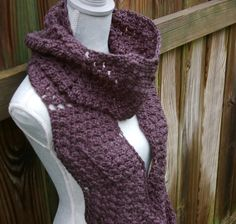 Infinity Scarf Crochet by CandacesCloset,