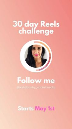 Join me starting May 1st for my #30daychallenge on Instagram Reels and learn to build your own social media strategy - for any platform! Design Social, Social Media Page Design, Inbound Marketing, Marketing Plan, 30 Day Challenge, Small Business Marketing, Mobile Marketing, Join, Challenges