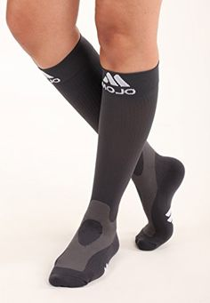 35f327854 Mojo Coolmax Recovery Performance Sports Compression Socks Medium Grey  Unisex   For more information