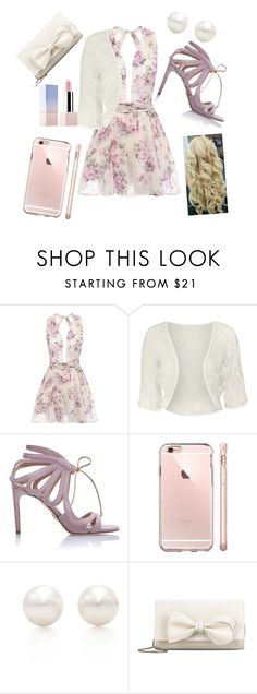 """Simple "" by nikola-sperlikova ❤ liked on Polyvore featuring WearAll, Chelsea Paris, Tiffany & Co., RED Valentino and Sephora Collection"