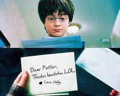 Lol harry potter