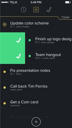 a painstakingly curated presentation of the most well designed apps Tim Ferriss, Coin Card, Call Backs, App Design, Color Schemes, Presentation, R Color Palette, Colour Schemes, Application Design