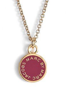 MARC BY MARC JACOBS Logo Pendant Necklace
